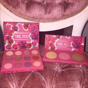 Colourpop FEM ROSA Collection. SHE & HER palettes